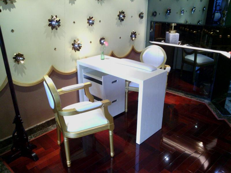 Wholesale nail salon furniture manicure table buy nail for Table de salon pas cher belgique
