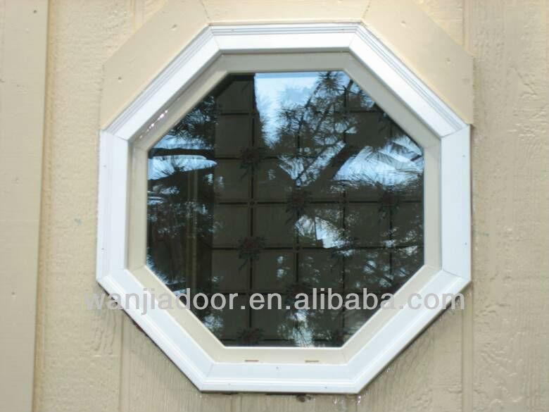 Pvc Window Shapes : Octagon shaped window pvc fixed