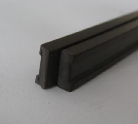 aluminum door magnetic strip seal