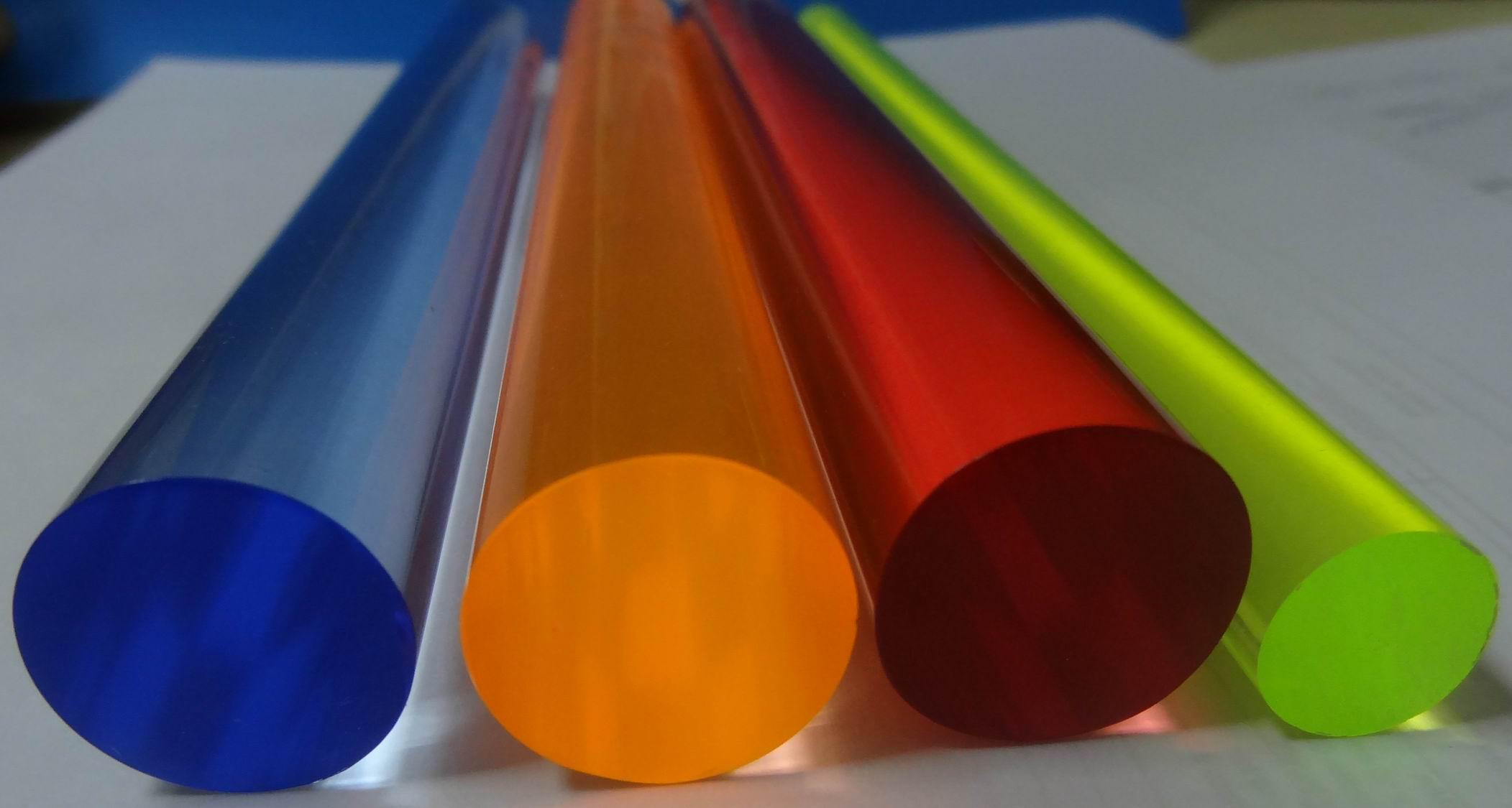Colorful swirl acrylic rod acrylic swirl color acrylic rod
