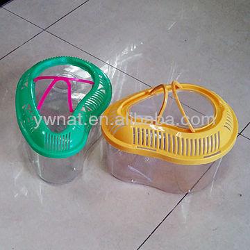 Crystal small plastic aquarium fish bowls for sale buy for Small plastic fish bowls