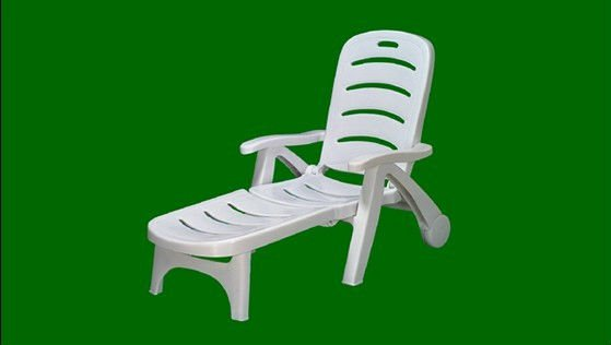 Cheaper Plastic Sun Loungers Bench Chair With Wheels