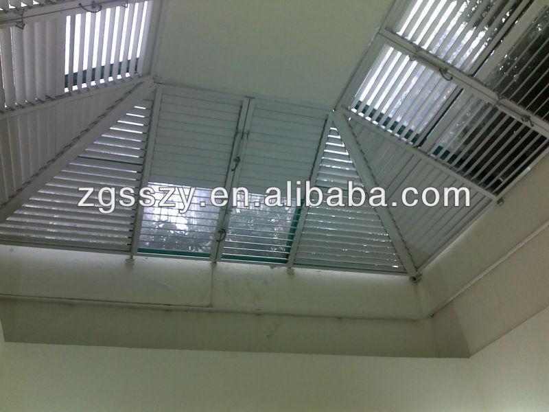 Building Facade Louver Profile/automatic/motorized Aluminum Window ...