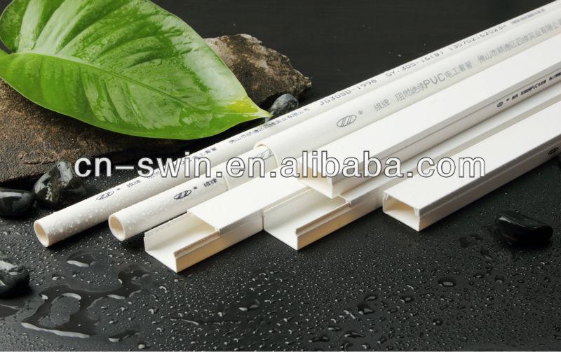 Superior white pvc square pipe size electrical