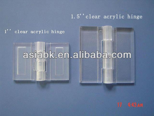 Plastic Garage Door Hinges transparent flexible acrylic hinges for connecting plastic garage