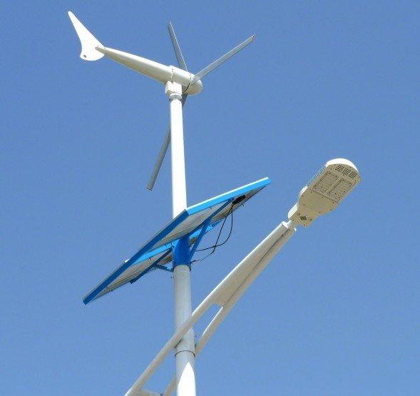 Street Light Voltage In Canada: 300w 400w Wind Solar Hybrid Power System Of Led Street