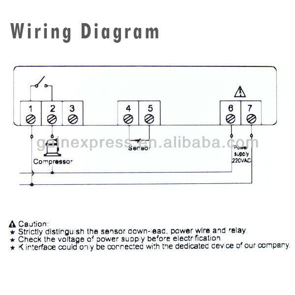 digital mini microcomputer temperature controller ... ranco defrost board wiring diagram imc 304 defrost timer wiring diagram #10