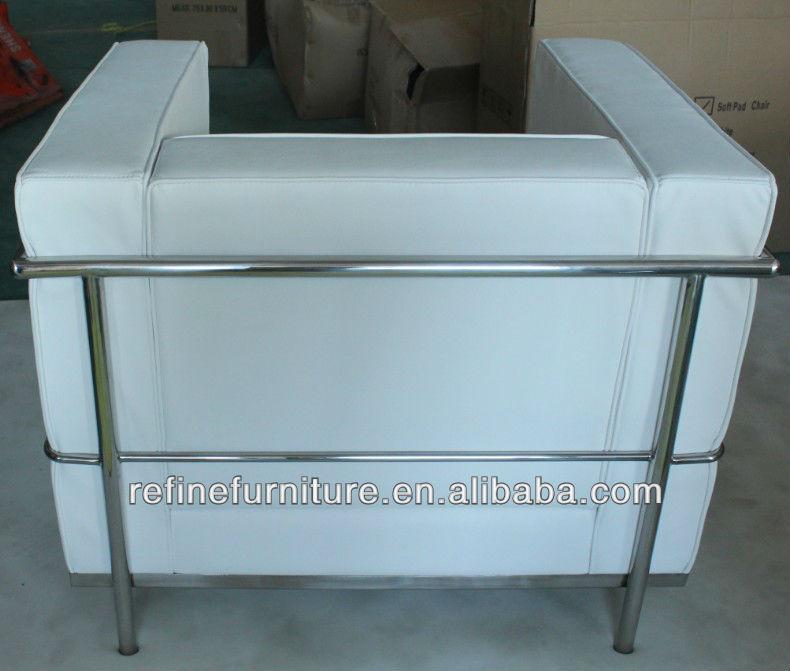 Sillones de oficina le corbusier lc2 sofa modern rf s300 for Sillones para oficina