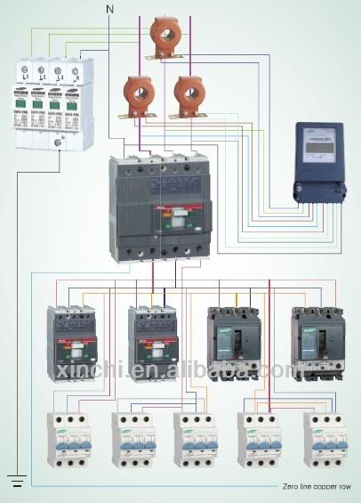 M1 Electrical Mccb Circuit Breaker - Buy Electrical Mccb ...