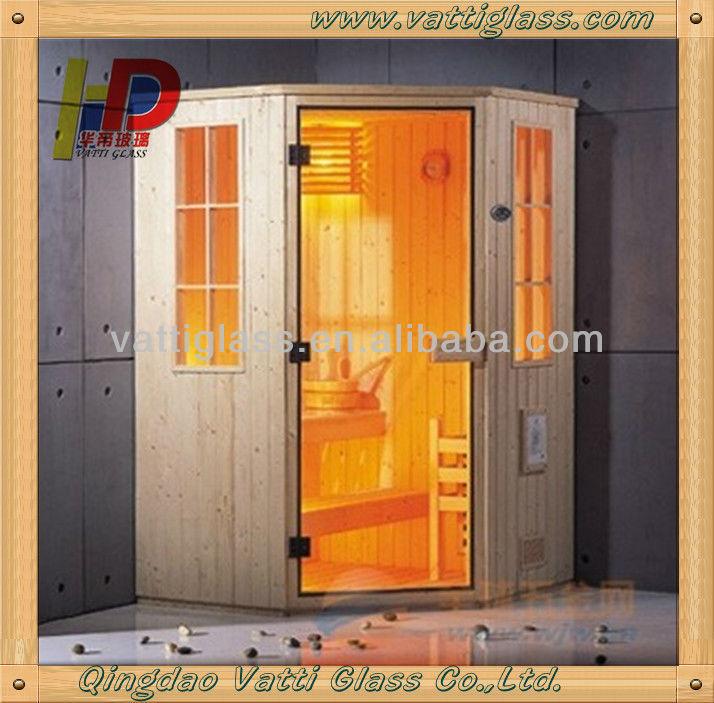 Saunatür Glas hanse saunatür glas holz fernen infrarot saunakabine glas tür