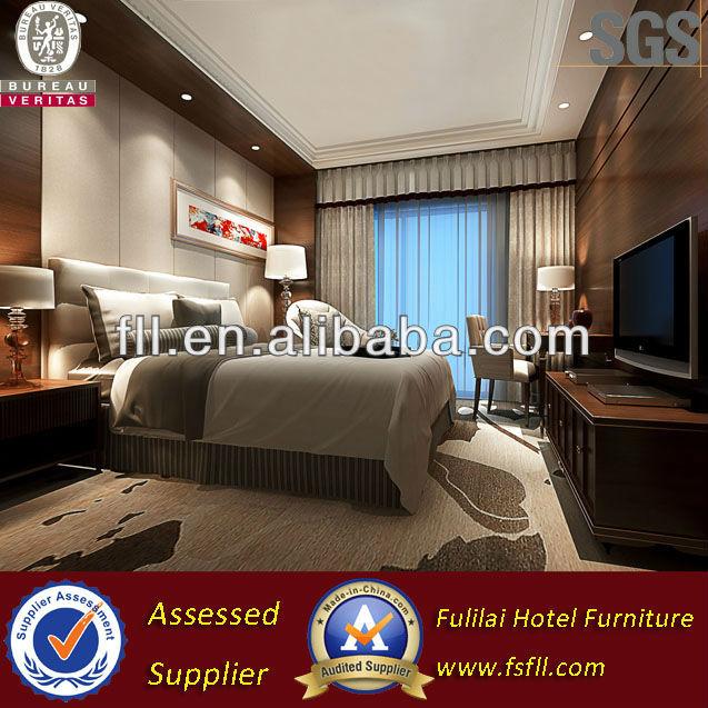 China Modern Hotel Bedroom Furniture Sets Design For Star Hotel
