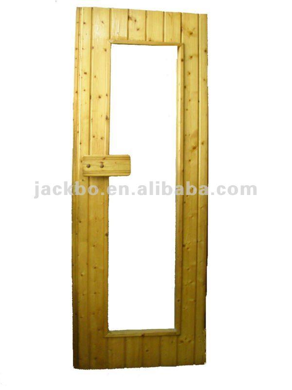 Sauna Accessories Alll Glass Dry Steam High Quality Wooden