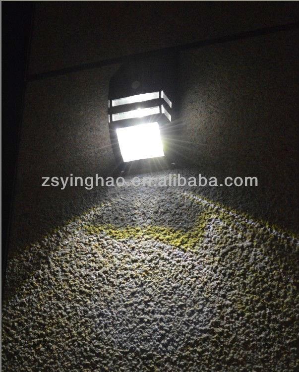 More Lumen Bright Solar Sensor Wall Light For Outdoor Use