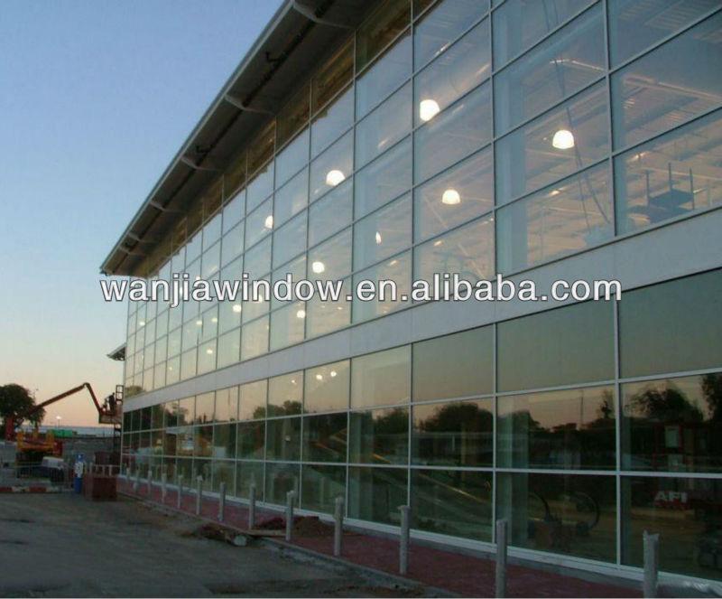 Attractive Frameless Glass Curtain Wall
