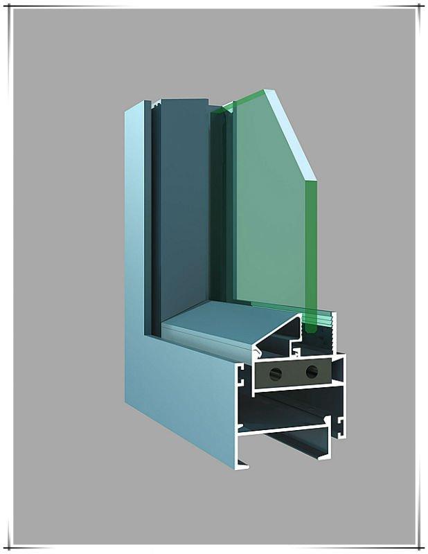 Powder Coated Aluminium Profile For Door Window Counter