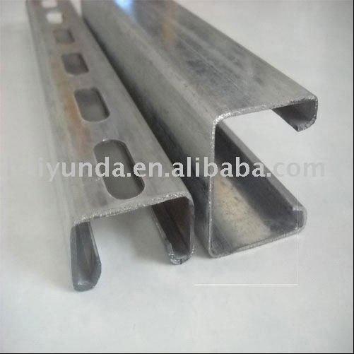 Structural strut channel roll formed steel profile buy