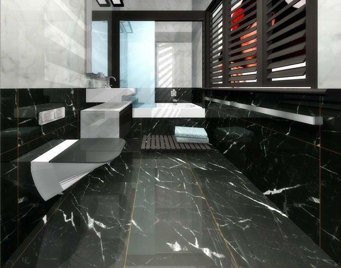 Nero Marquina Marble Tiles Buy Chinese Nero Marquina