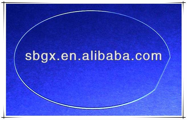 Borosilicaat glazen plaat buy product on for Glazen plaat