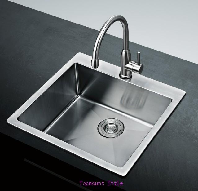 Stainless Steel Rectangular Kitchen Wash Basin,Undermount Kitchen Sink ...