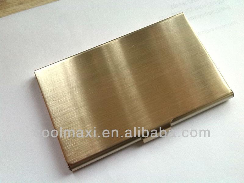 Stainless Steel Golden Business Card Holder - Buy Card Holder ...