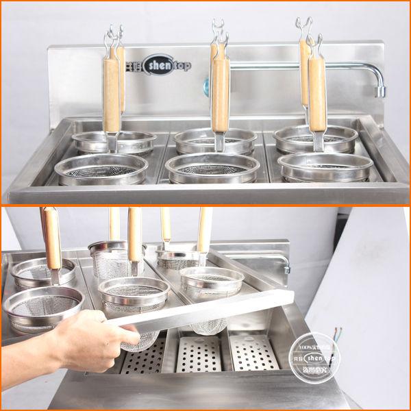 Shentop Peralatan Dapur Komersial Cepat Memasak Mie Stpp 6gn Pasta