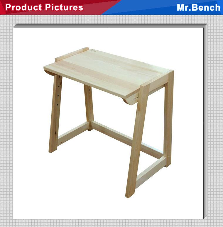 Kids Adjustable Table Of Pine Wood