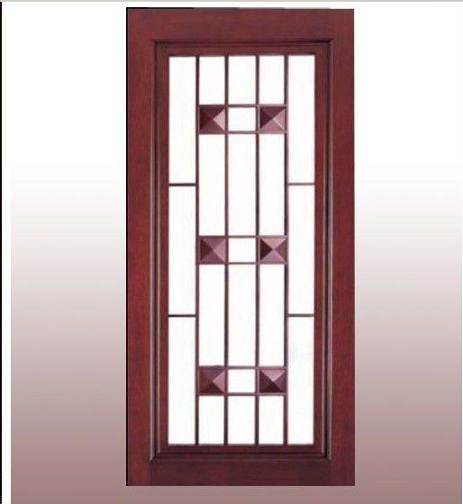 Interior Doors With Glass Inserts : Glass insert wood interior door buy doors with