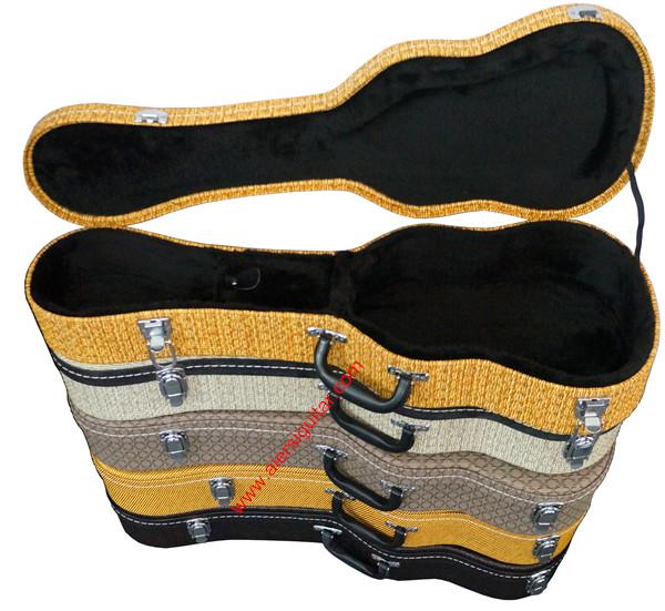 Tweed Ukulele Hard Case -aiersi Brand High Quality Plywood Case ...