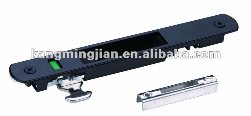 Puerta Corredera De Aluminio Con Negro Buy Cerradura De