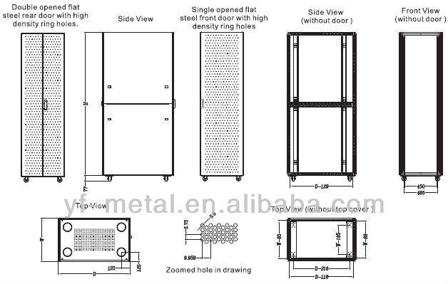 19 inch rack dimensions pdf