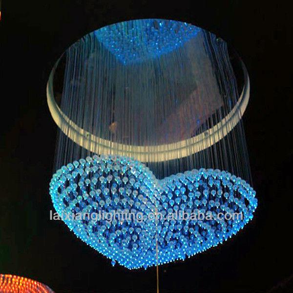 Glass Fiber Optic Lighting Led Light Chandelier,Components Of The ...