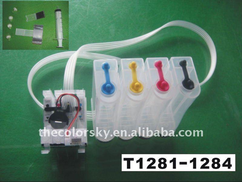 (cisse1281) Ciss Kit Ink Tanks With Accessories T1281 - T1284 For Epson  Stylus S22/sx125/sx420w/sx425w Office Bx305f/bx305fw - Buy Ciss Kit,Ink