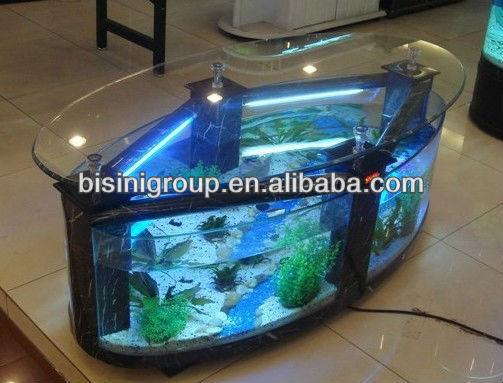 Bisini Oval Fish Tank Aquarium Table Bf09 41033 Buy