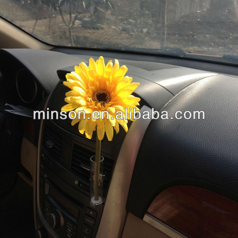 Fashion Car Auto Flower Set Vase Clip Fit Any Air Vent Beetle