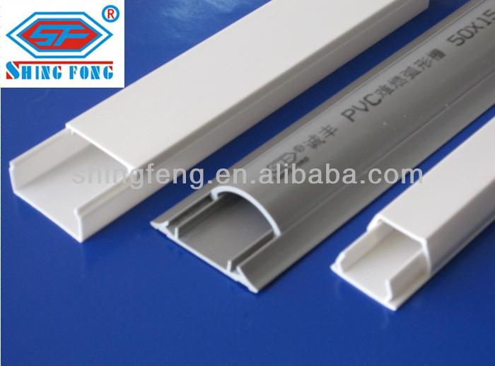 good electrical pvc trunking conduits buy pvc trunking conduits rh alibaba com flexible plastic wiring conduit Outdoor Electrical Wiring