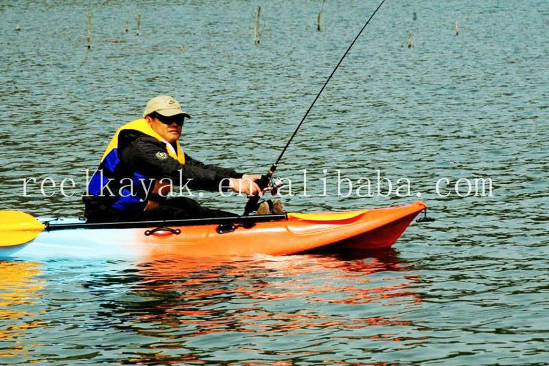 New design for 2015 sunrise angler fishing kayak made in for Cheap fishing kayaks
