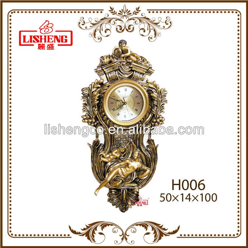 Fancy Home Art Vintage Decorative Wall Clock Design H006 Buy