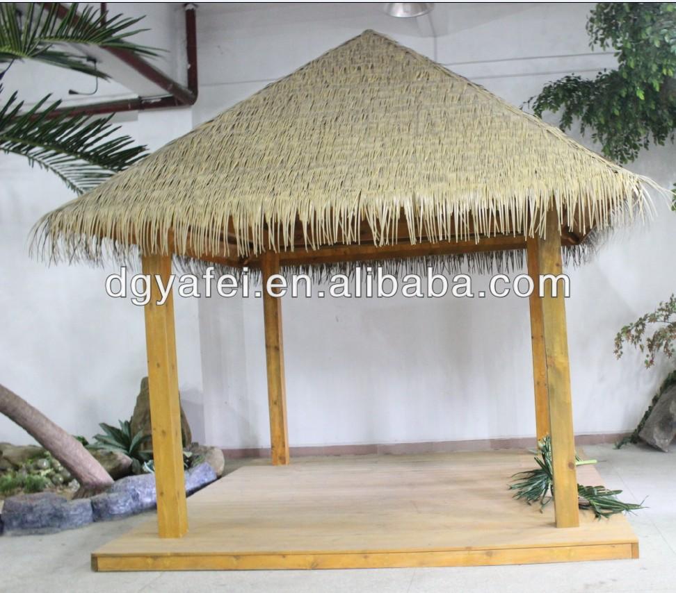 Strandtas Riet Maken : Door de mens gemaakte riet huis dak decoratie kunstmatige