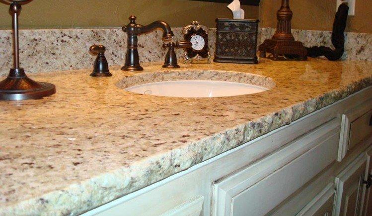 Brazilian Stone Giallo Santa Cecilia Granite Countertops