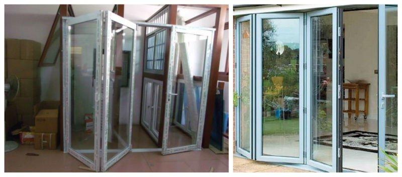 Aluminio puertas plegables de dise o elegante buy - Puertas plegables aluminio ...