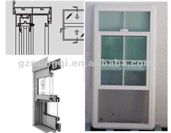 Aluminum Window Details : Aluminum up down sliding window american style buy