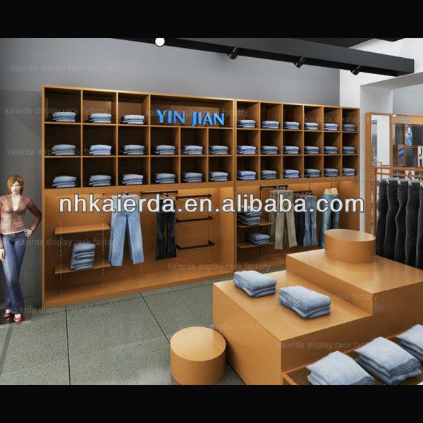 Shop Interior Design/garment Shop Interior Design/shop Decoration ...