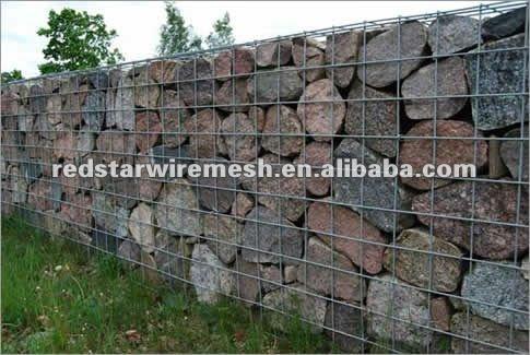 gaviones y gaviones caja soldada para la orilla del ro y proteccin muro de contencin
