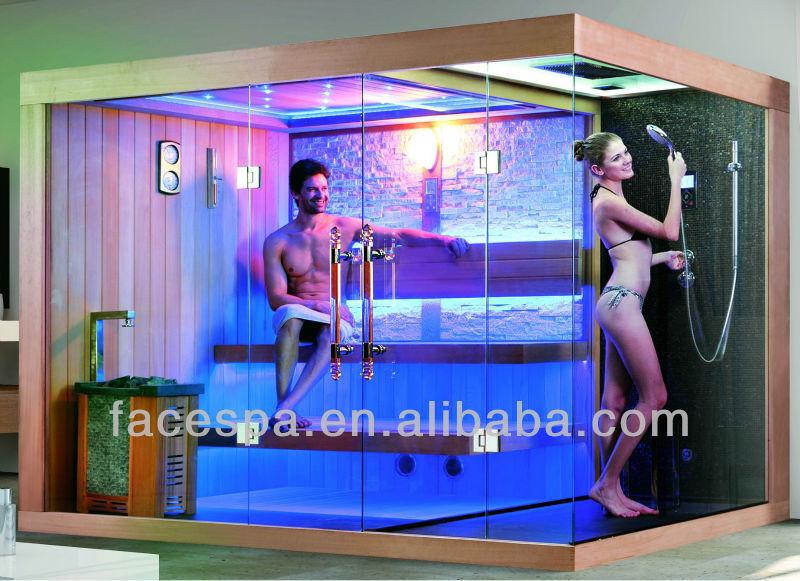 Sauna Shower Combination For High End Hotel Designs