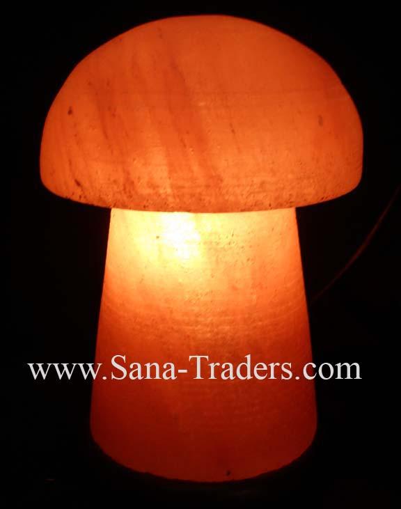 Mushroom Salt Lamp / Rock Salt Lamps / Himalayan Rock Salt Lamps / Fancy  Lamps /