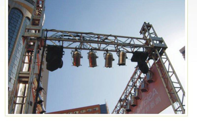 Light audio hanging aluminum truss buy aluminum stage for Buy truss