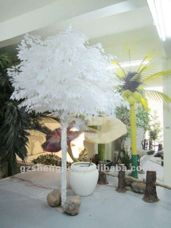 white fake tree - Rainforest Islands Ferry