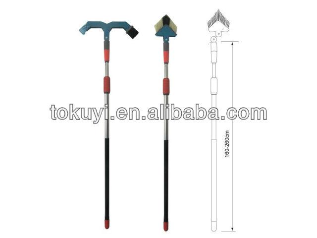 gutter cleaner gutter cleaning brush telescopic gutter brush with long handle - Gutter Brush