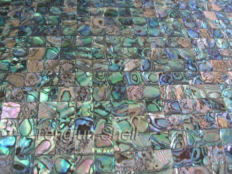 Conchiglia abalone piastrelle mosiac mestieri conchiglia abalone
