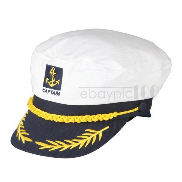 Wholesale-Captain Boating Sailor Sea Navy Marine Hat Cap Party